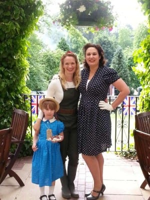 The Mumbler Land Girls at the 1940's day last year
