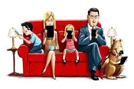 Family on sofa Raworths