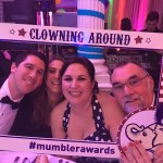 Mumbler Awards Clowning Around Selfie