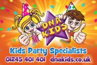 DNA Kids Party providers in Hrrogate