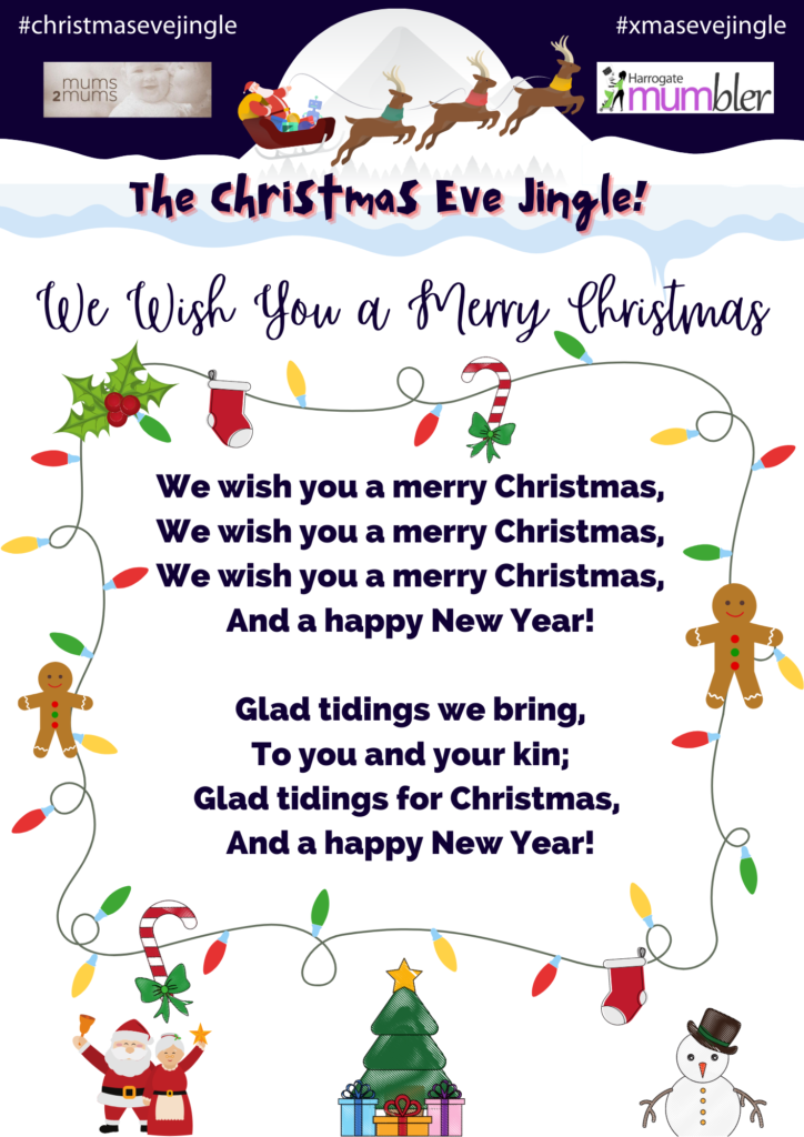 Personalised Christmas Eve Jingle Bells